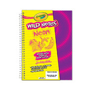 Crayola Wild Notes Neon Journal