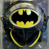 Batman Licensed 40mm DJ Style Headphones
