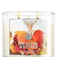 Bath & Body Works Sweater Weather Candle 14.50 Oz