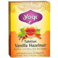 Herbal Tea Supplement, Tahitian Vanilla Hazelnut