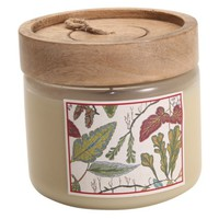 Threshold™ Enchanted Woods Candle Jar w/ Wood Lid - Vanilla Blossom