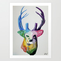 Deer Art Print Promoters