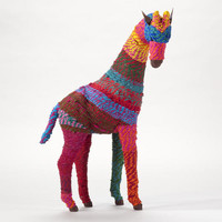 Chindi Giraffe with Turned Neck