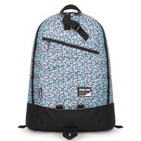 Stylish Leisure Contrast Color Leopard Print Backpack Bag