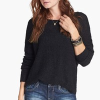 Rubbish® 'Grunge' Textured Sweater (Juniors) | Nordstrom
