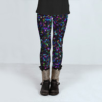 Leggings Mosaic Sparkley Texture 2 by Medusa81 (Leggings)