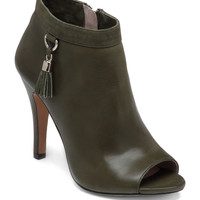 Shoes | Fast & Fab!: 60% Off A Selection of Ladie's Boots & Shoes | Nappa Leather & Suede Peep Toe Booties | Lord and Taylor