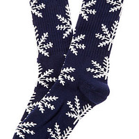 The Nordic Crew Socks in Navy