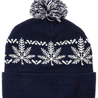 The Nordic Beanie in Navy