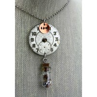 Time in Bottle Necklace-Version One