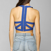 Aryn K. Skeleton Cutout Bra Top - Urban Outfitters