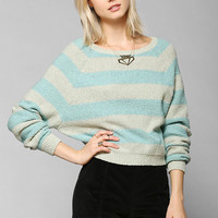 Cooperative Shrunken Rugby Sweater - Urban Outfitters