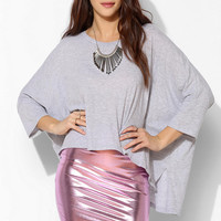 Motel Metallic Bodycon Mini Skirt - Urban Outfitters