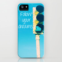 Follow your dreams iPhone & iPod Case by Deb Schmill