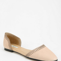 Kimchi Blue Lace Trim D'Orsay Flat - Urban Outfitters