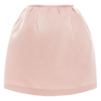 Silver Peony Column Mini Skirt by Esme Vie for Preorder on Moda Operandi