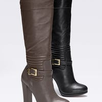 Quilted Chunky-heel Boot - VS Collection - Victoria's Secret