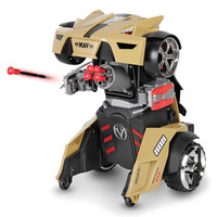 The Remote Controlled Transforming Robot Car