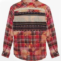 Gimmicks by BKE Plaid Shirt