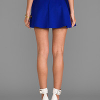 Amanda Uprichard Circle Skirt in Nu Blue