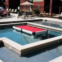Waterproof Pool Tables