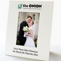 Onion Store > Man Likes Woman So Much He Marries Her - Frame