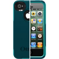 Walmart: OtterBox Commuter Case for iPhone 4/4S, Deep Teal/Light Teal