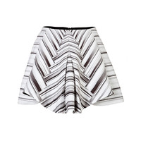 Peter Pilotto - Printed Flared A-Line Skirt