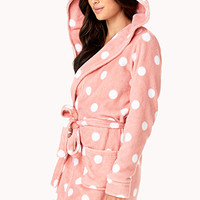 Sweet Side Polka Dot Robe