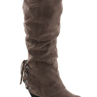 Just Duet Boot in Taupe | Mod Retro Vintage Boots | ModCloth.com