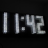 Karlsson Jumbo White LED Wall Clock