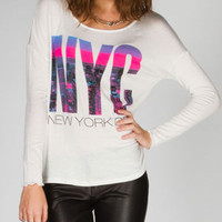 FULL TILT NYC Skyline Womens Tee