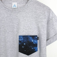 ANDCLOTHING — AND Galaxy Pocket Tee