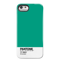Case Scenario: Pantone iPhone 5 Case Emerald