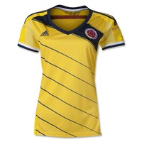Colombia 2014 Women's Home Soccer Jersey - FoxSoccerShop.com