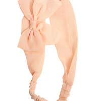 Pretty Bow Solid Headwrap - WetSeal