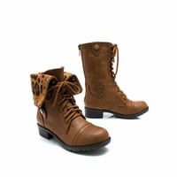 Zipping Around Combat Boots - GoJane.com