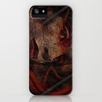 Shell - Cyborg Portrait iPhone & iPod Case by Galen Valle