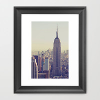 NYC Framed Art Print by Chernobylbob