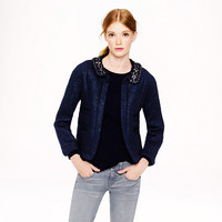 COLLECTION CRYSTAL MOHAIR JACKET