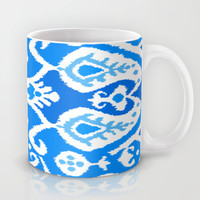 ikat in Electric Dip Mug by Miranda J. Friedman