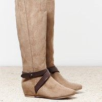 AEO HIDDEN WEDGE RIDING BOOT
