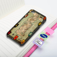 Game of Thrones - Westeros Kingdom Map Phone Case for iPhone and Samsung Galaxy