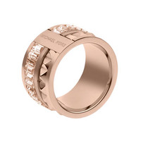 Michael Kors Pyramid Ring, Rose Golden