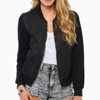 All Flor One Bomber Jacket $47