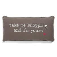 Levtex 'Take Me Shopping' Pillow