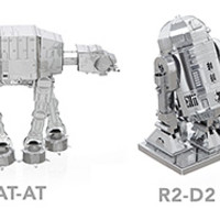 Star Wars Miniature Metal DIY Model Kits