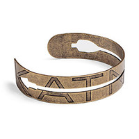 The Hunger Games Catching Fire Cut-out Arrow Metal Cuff