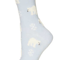 EVE Snowman Knitted Socks