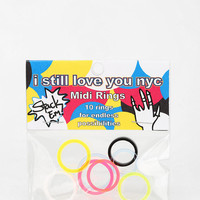 I Still Love You NYC Midi Ring Set - Urban Outfitters